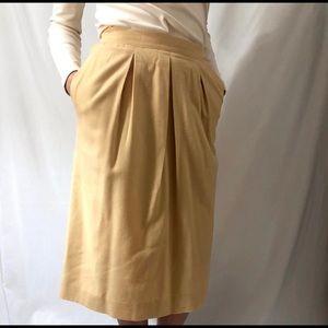 Vintage Goldenrod Carlisle Skirt